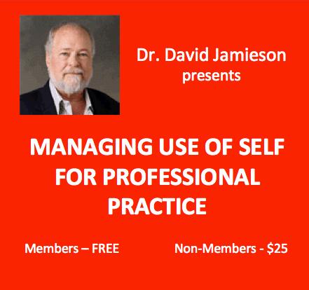 Jamieson Webinar: Use of Self